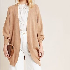Anthropologie Petra Cardigan - Honey Color